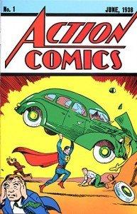 Action Comics 1/1938 – maailman arvokkain yksittäinen sarjakuvajulkaisu