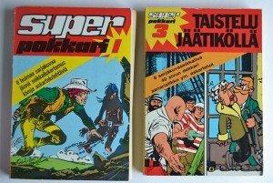 Superpokkari: laatusarjakuvaa ja irtoilevia sivuja